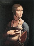 达芬奇油画 Portrait of Cecilia Gallerani
